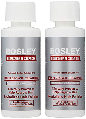 [ready stock] Bosley Hair Regrowth Treatment Regular Strength for Women, 2 Cou