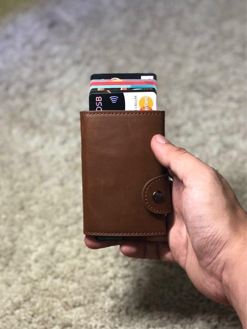 uk availability 1961a 62ffe (Ready Stock) Casekey Anti-theft RFID Credit Card Holder Men Aluminum