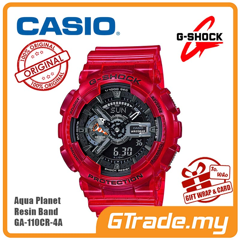 2418dd17526f  READY STOCK  CASIO G-SHOCK AQUA PLANET GA-110CR-4A Analog. ‹ ›