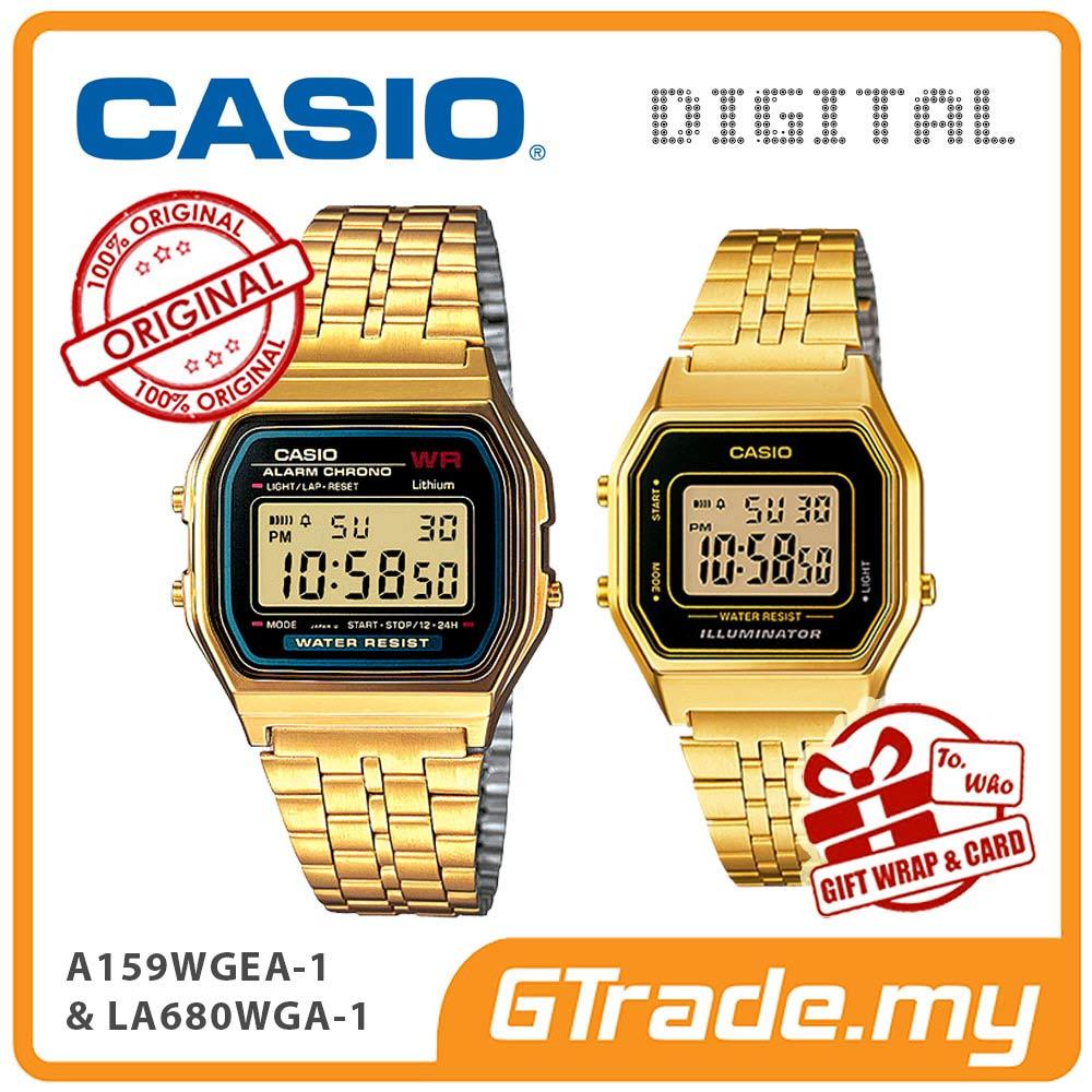 5ca4185cd92  READY STOCK  CASIO GOLD A159WGEA-1 (end 5 10 2021 12 00 AM)