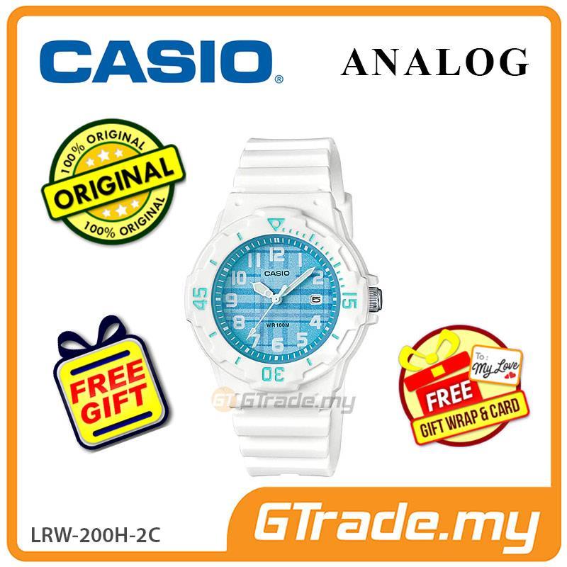 [READY STOCK] CASIO Ladies Kids LRW-200H-2C Analog Watch | 2018 New Co