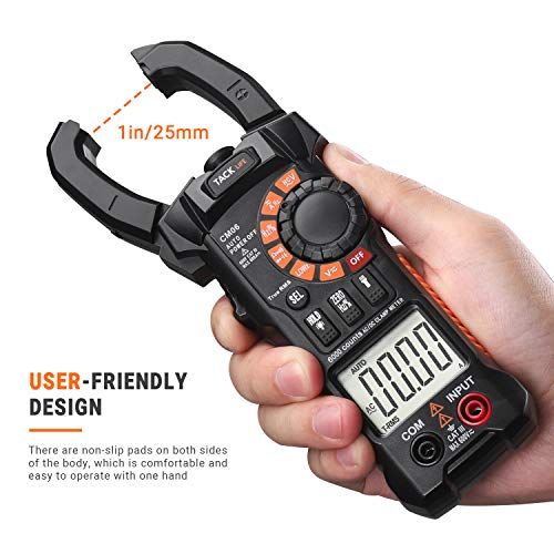 [ready stock] Clamp Meter Amp meter Digital Multimeter 6000 Counts with NCV Au