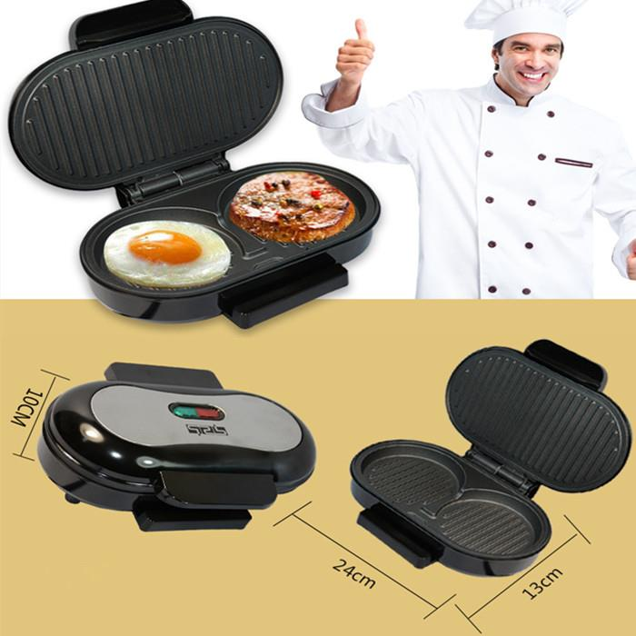 Ready Stock Electric Burger Maker Hamburger Meat Grill