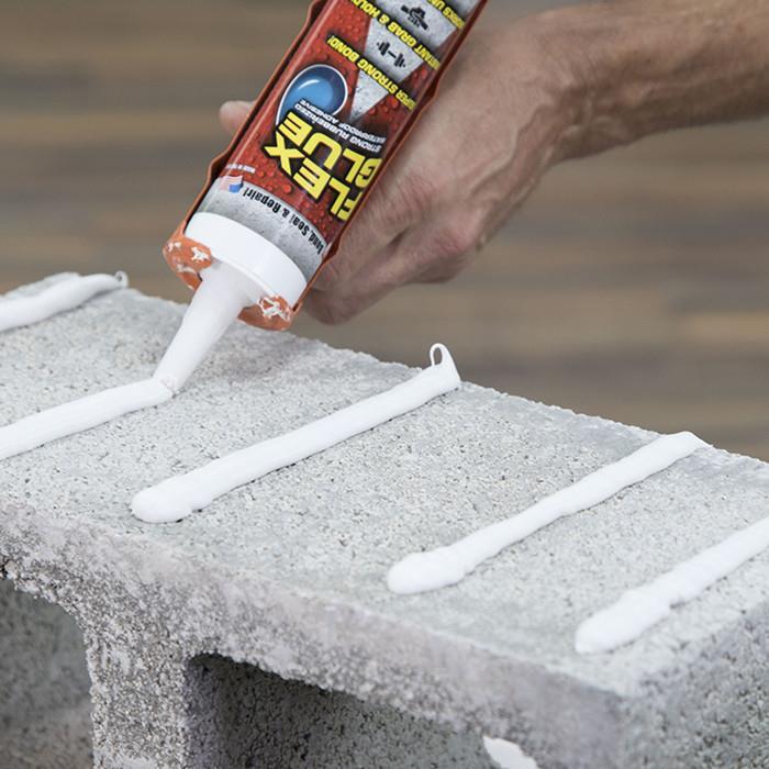Ready Stock Flex Glue Waterproof Strong Rubberized Adhesive Bonding