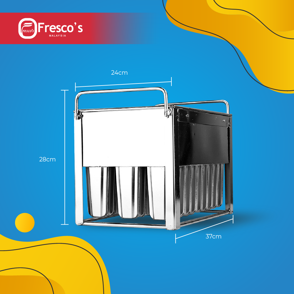【READY STOCK】 Fresco Popsicle Ice Cream Mould 78ml