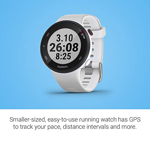 [ready stock] Garmin Forerunner 45S, 39mm Easy-to-use GPS Running Watch with C