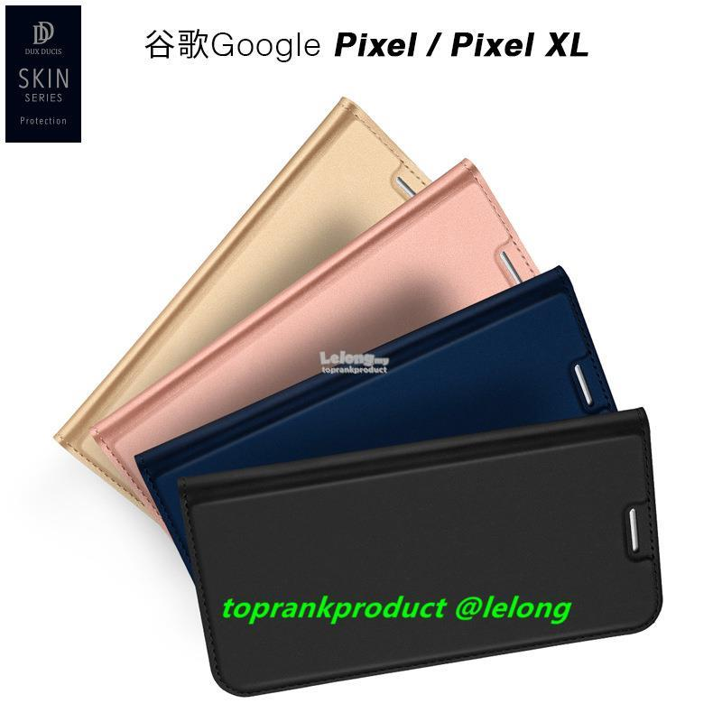 Ready Stock@ Google Pixel Flip PU Leather Stand Case Cover Casing