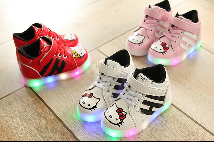 9f8123adf788  READY STOCK  High-Cut Hello Kitty Shoes With LED Light  863. ‹ ›