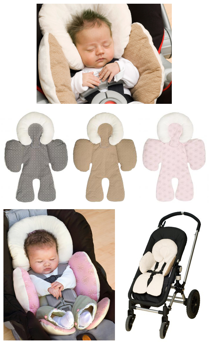READY STOCK JJ COLE Baby Stroller Carseat Reversible Body Support C