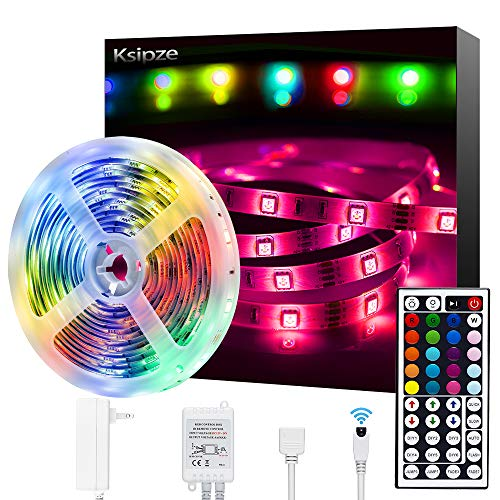 [ready stock] Ksipze LED Strip Lights 16.4ft RGB Color Changing 5050 Flexible