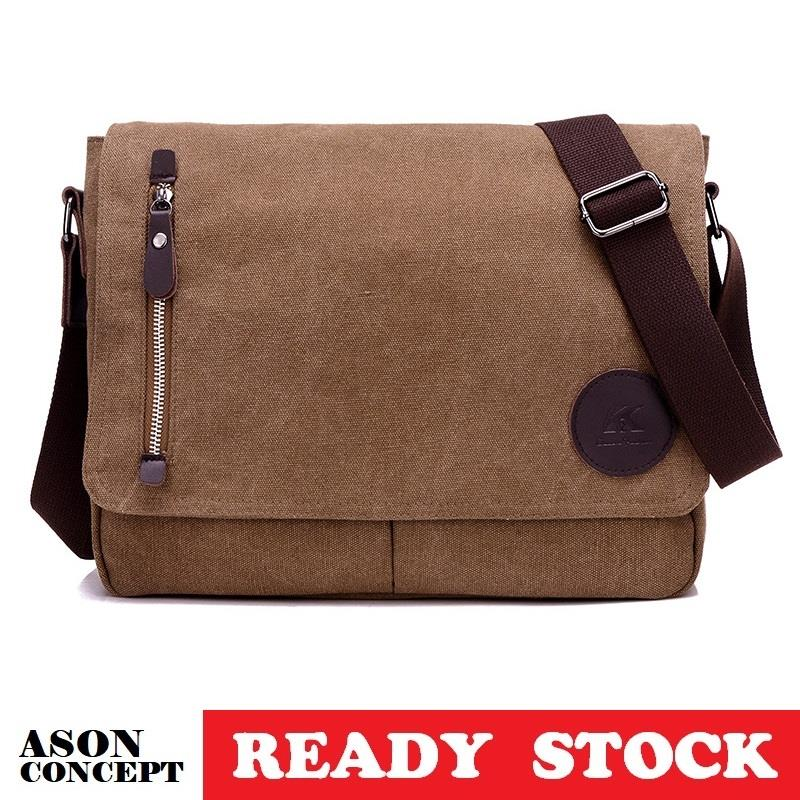 READY STOCK men bag sling bag shoulder bag 023 (BROWN)