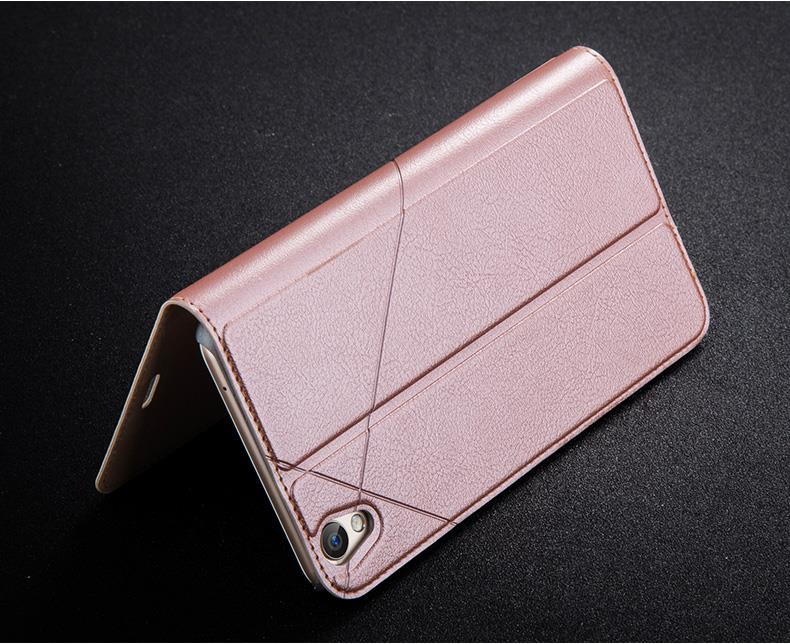 Ready Stock@ Msvii OPPO F1 Plus Flip Stand Leather Case Cover Casing