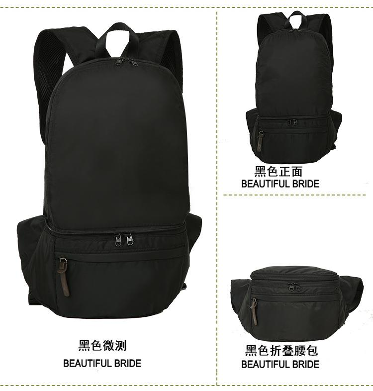Ready stock Multifunction Backpack Bag waist pouch chest bag