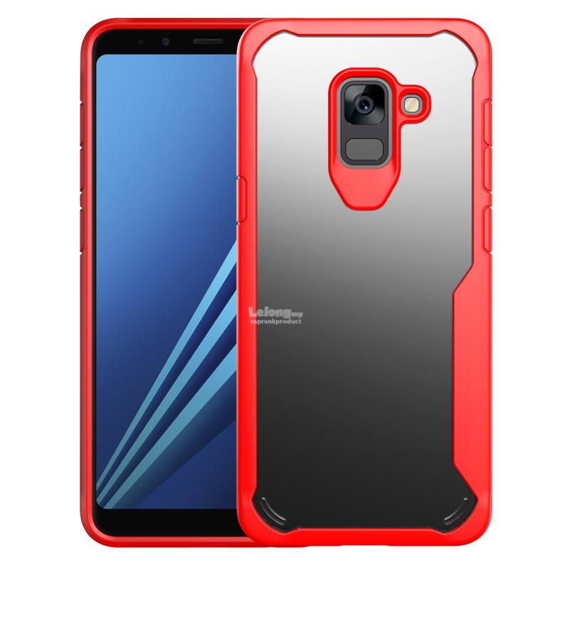 purchase cheap 5b455 e2350 Ready Stock@ Samsung Galaxy A8 2018 ShakeProof Clear Case Cover Casing
