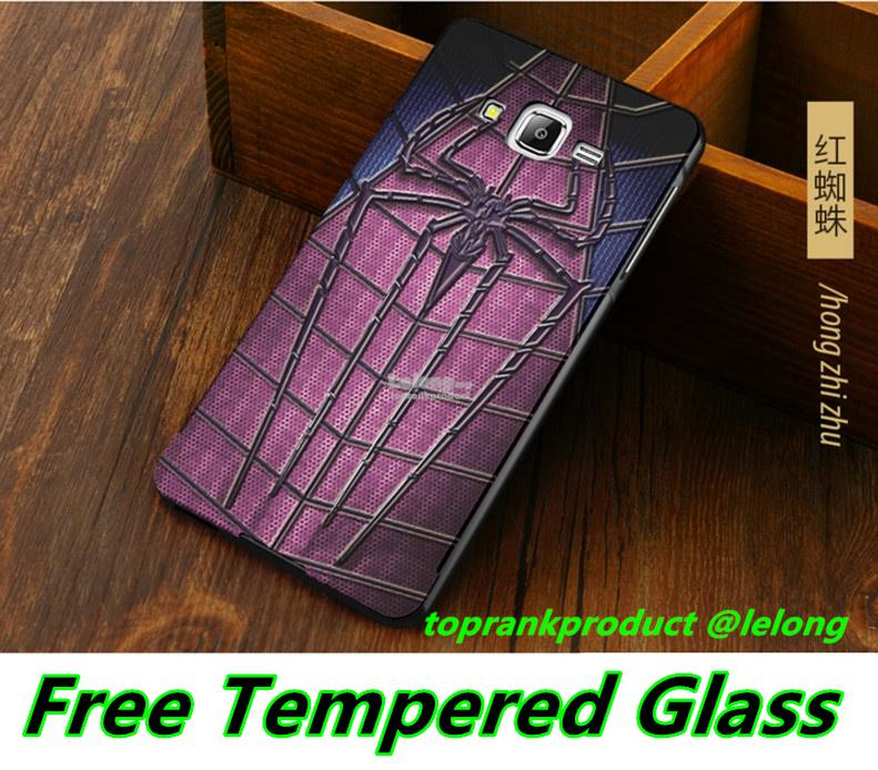Ready Stock@ Samsung Galaxy J5 2015 3D Metal Case Cover Tempered Glass