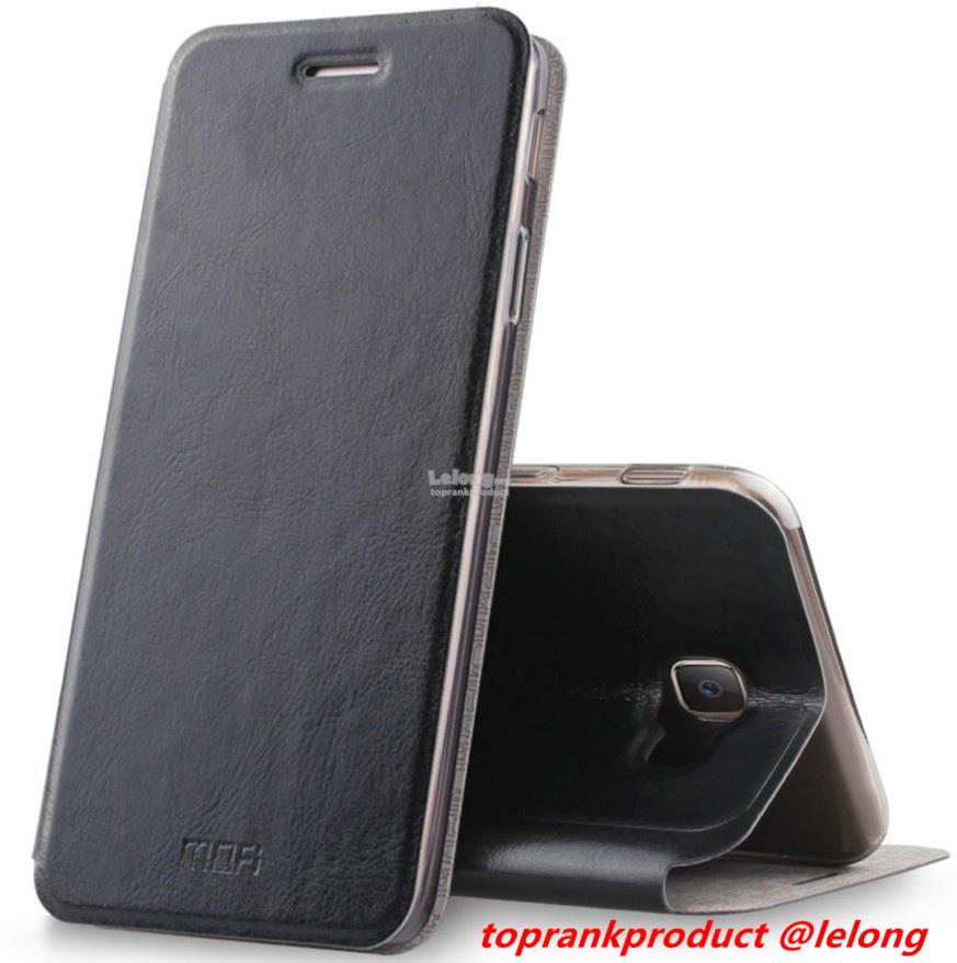 Ready Stock@ Samsung Galaxy J7 Prime Flip Leather Case Cover Casing