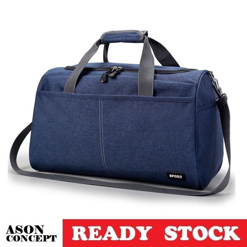 READY STOCK travel bag clothes bag 067 (BLUE)