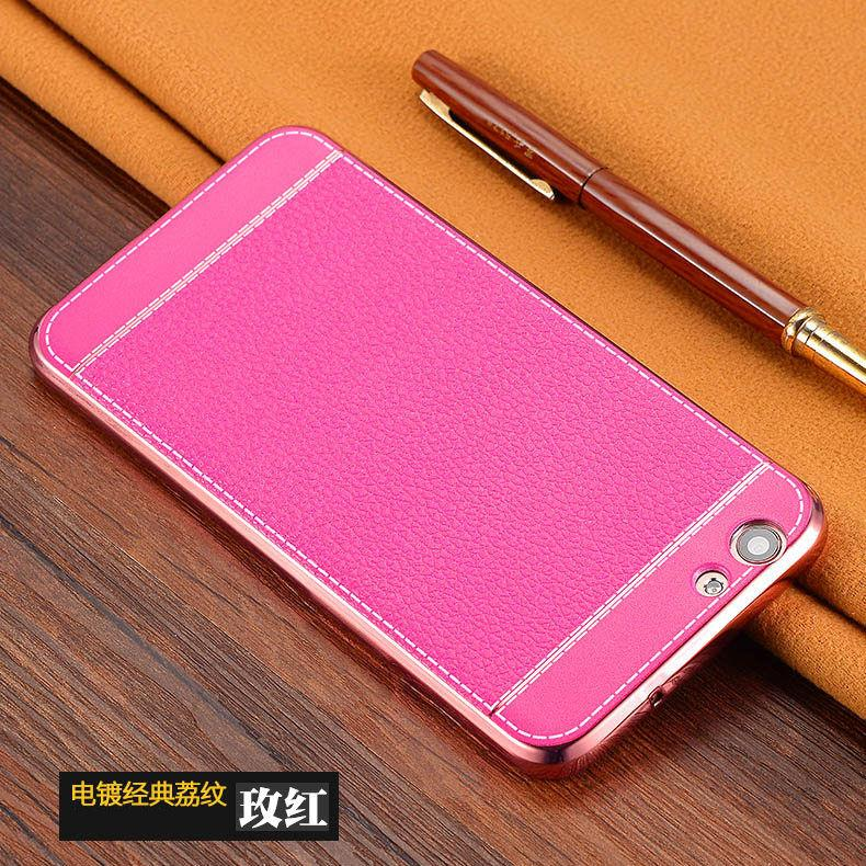 Ready Stock@ ViVO Y66 Soft PU Leather TPU Back Case Cover Casing