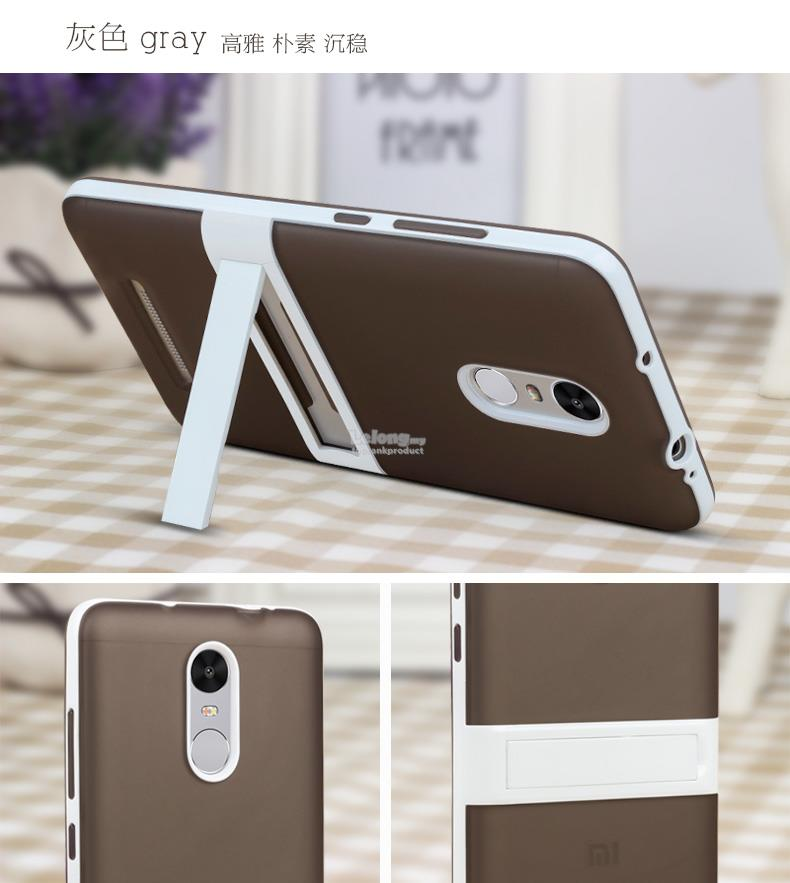 Ready Stock @ Xiaomi Redmi Note 3 Pro Stand Back Case Cover Casing