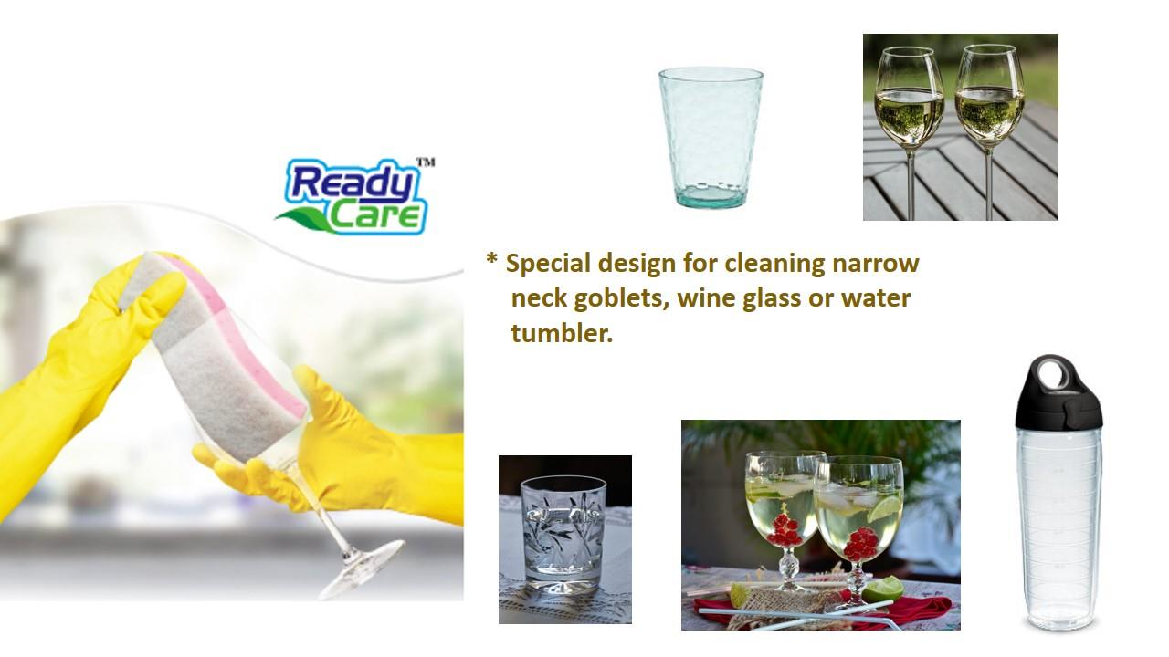 Readycare Glass & Bottle Sponge Scourer 1pc