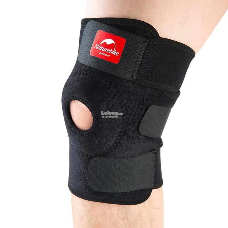 READYSTOCK NatureHike Sport Knee Support Brace Cap Durable Shin Protec