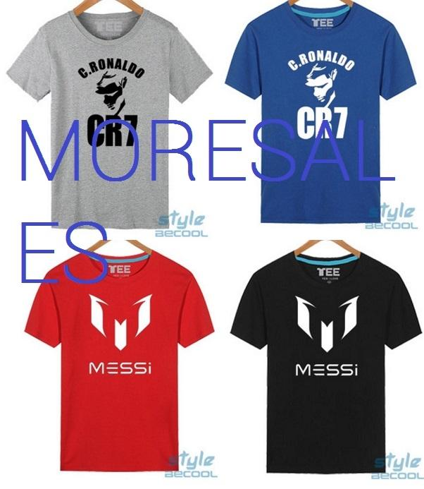 check out 10ee9 79faa Real Madrid C Ronaldo CR7 Barcelona Messi T-Shirt