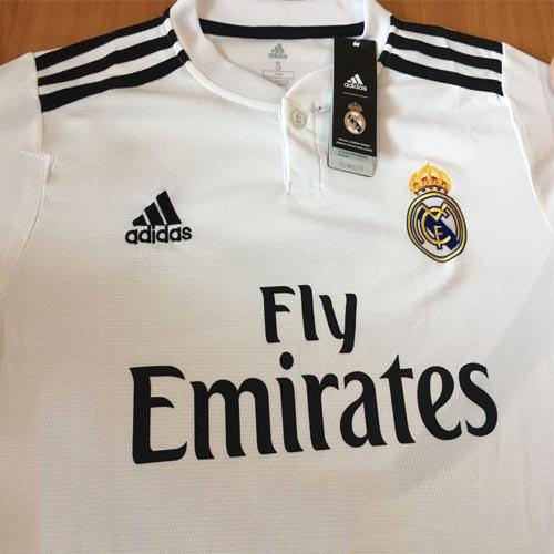 357efe32a Real Madrid Home Jersey 2018/2019 (end 8/26/2019 11:15 AM)
