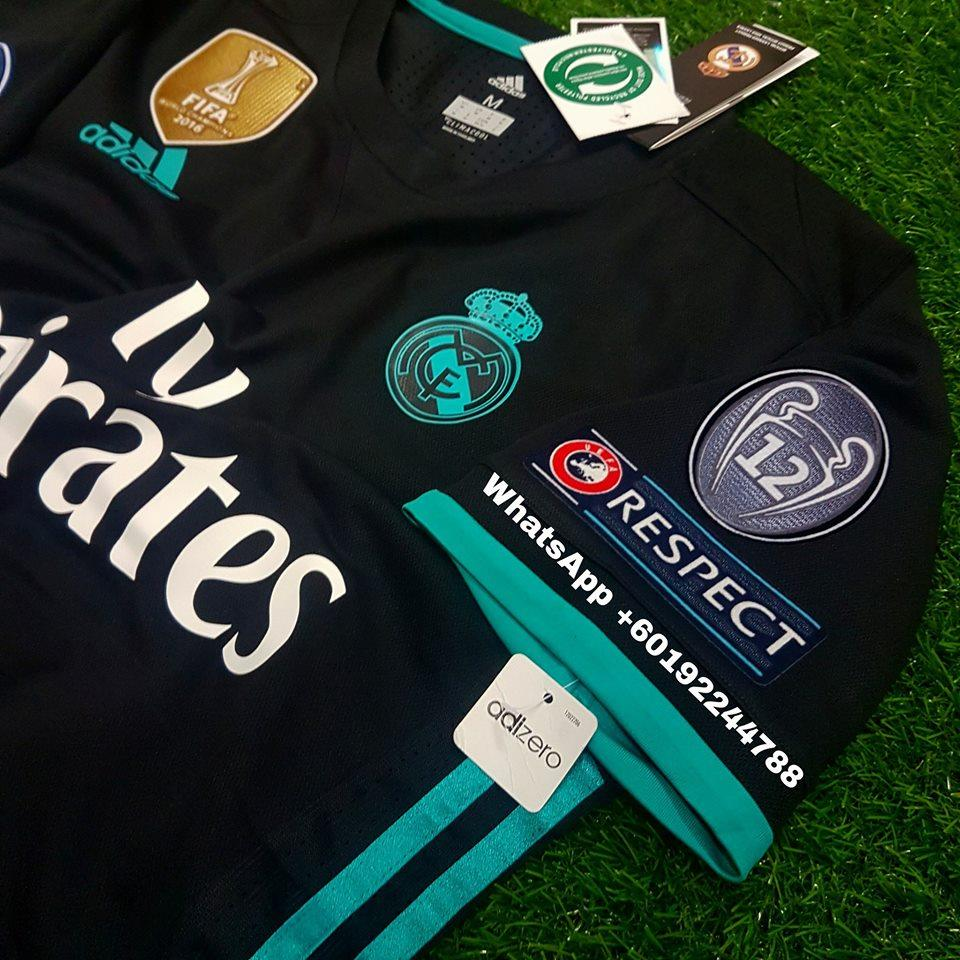 37d906eccdc REAL MADRID AWAY JERSEY   JERSI 2017   18 FULL SPEC PATCH UCL