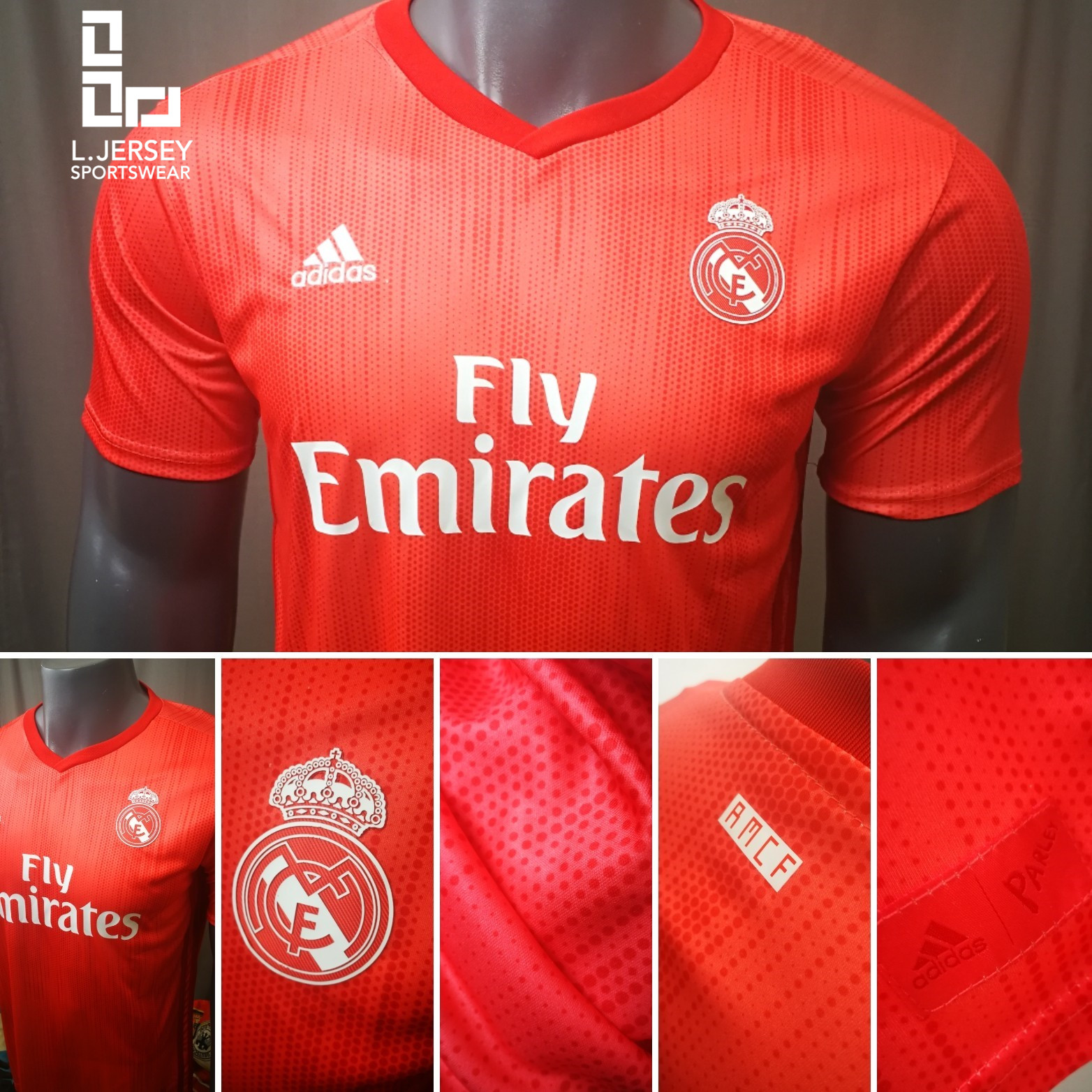 pretty nice f6efe a7cce Real Madrid Men 3rd 2018/19 Fans Jersey