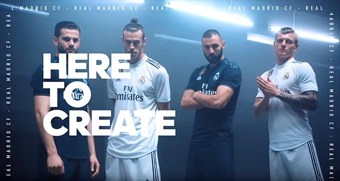 4bf2824de53 real madrid team away jersey 2018 20 (end 9 25 2019 9