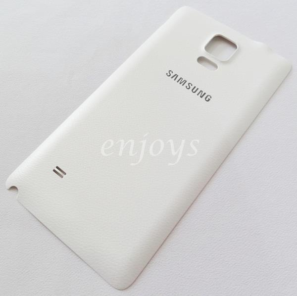 official photos 979ec 8a8fb Real ORIGINAL HOUSING Battery Cover Samsung Galaxy Note 4 N910C ~WHITE