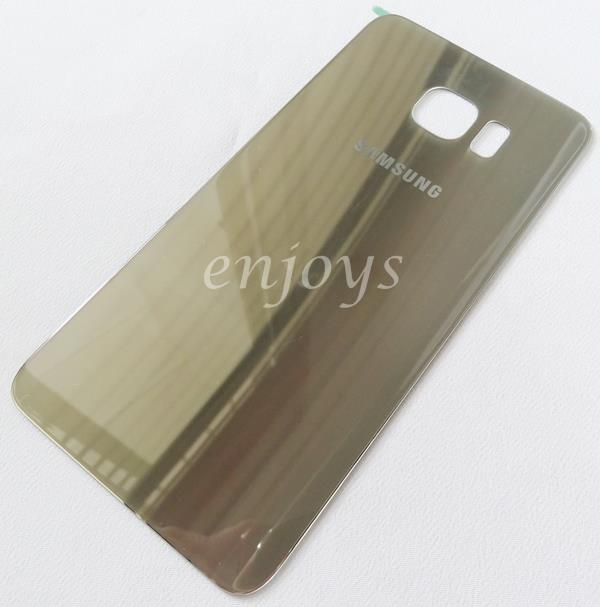 Real ORIGINAL HOUSING Battery Cover Samsung Galaxy S6 edge G925F ~GOLD