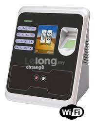 Real Time Face Fingerprint Card Time Attendance RS596 WIFI