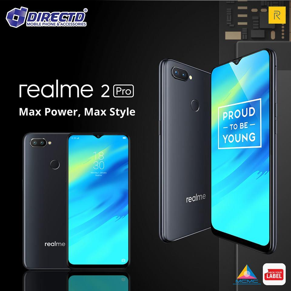 RealMe 2 PRO (8GB RAM | 128GB ROM) AWESOME DEAL ONLY @DirectD