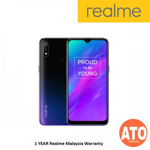 Realme 3 (4GB RAM+64GB ROM, MediaTek Helio P60, 4230mAh battery)