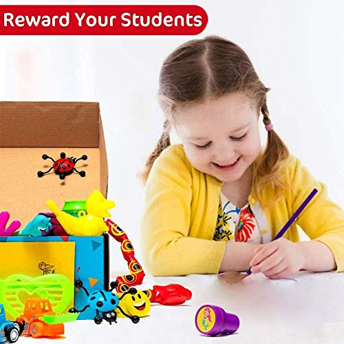Reca 120 Kids Prizes Plus 50 Dino Stickers = 170 Party Favors for Kids Party,