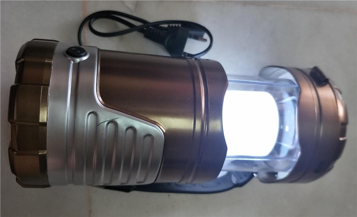 Rechargeable CAMPING LIGHT gadget