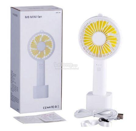 Rechargeable Cooling Portable Adjustable 3 Speed Mini Fan For USB