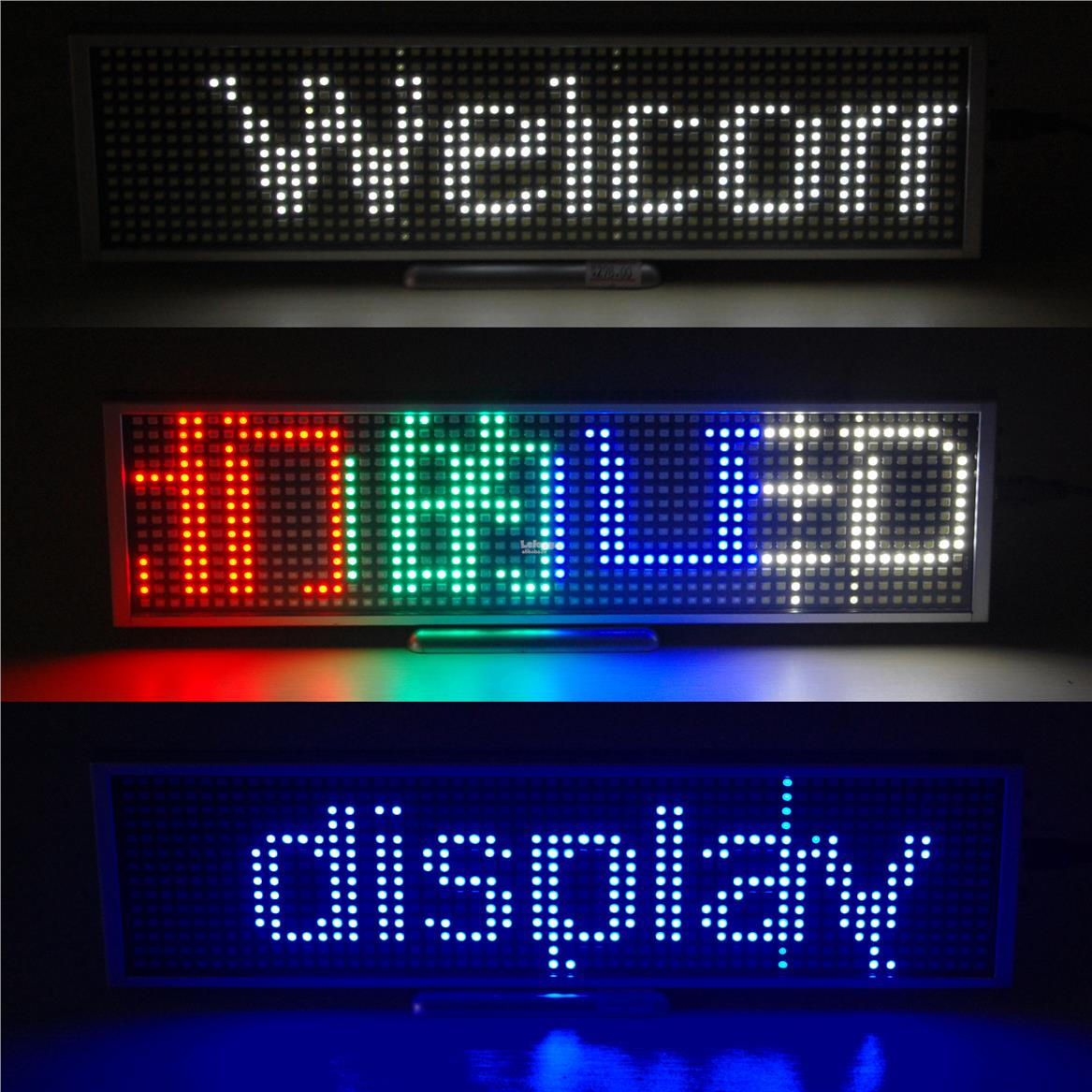 Rechargeable Display Board 5 words (blue,white,multi)