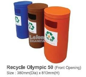 Recycle Bin 3In1 Olympic 50 380Diax810Hmm Front Opening QQ