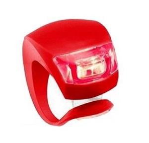Red Rear Lamp LED Silicone Hook on LED Bicycle Tail Light