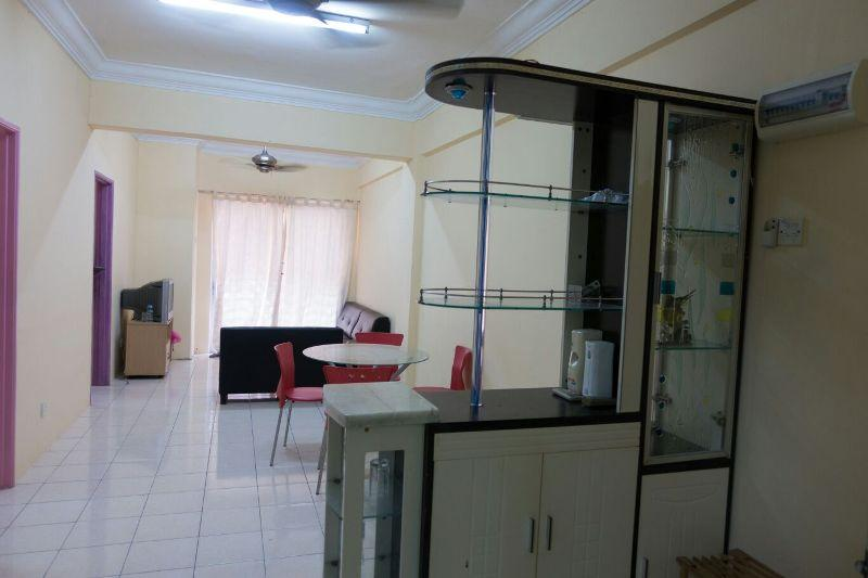Red Ruby 2 Apartment for rent, 1st Floor, Fully Furnished, S.Kembangan