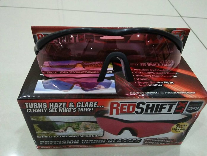 RED SHIFT GLASSES