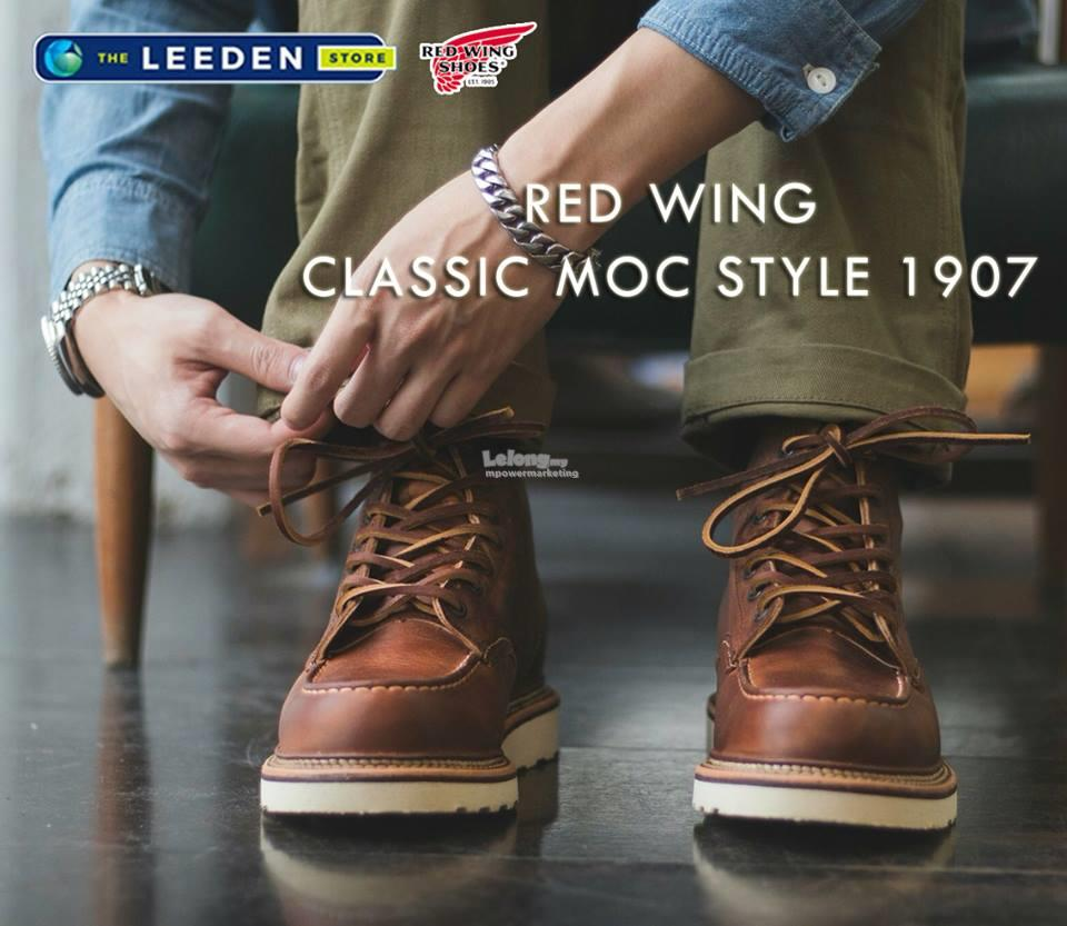 7f56776ad27 Red Wing Classic MOC Boot Shoes Made In USA 1907