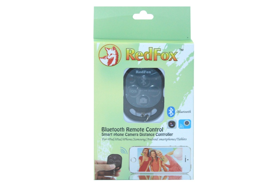 REDFOX SELF SHOOT BLUETOOTH CAMERA REMOTE FOR ANDROID / IOS (CT84)