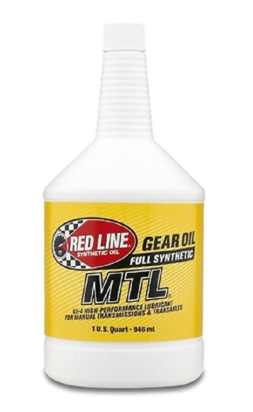 REDLINE GEAR OIL MTL 75W80 GL4