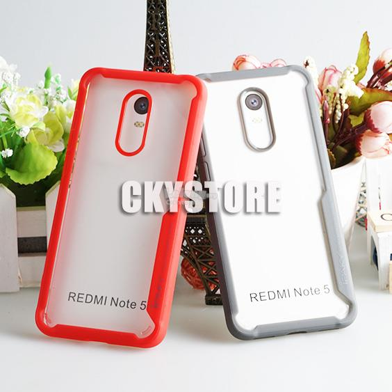 REDMI 5 Plus NEW Tough Protection Transparent Case