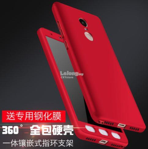 REDMI 5 / REDMI 5 PLUS 360 Case with Tempered Glass