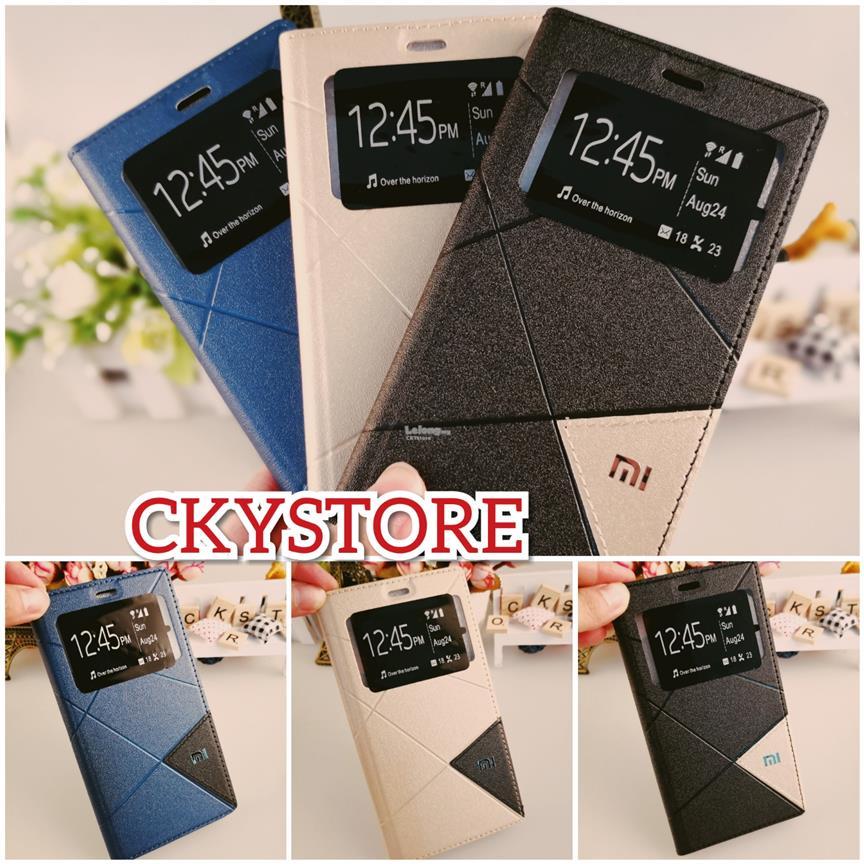 cheap for discount f92e2 4d83f Redmi 6A Note 5 5A PRIME 5 Plus SVIEW Triangle Standable Flip case