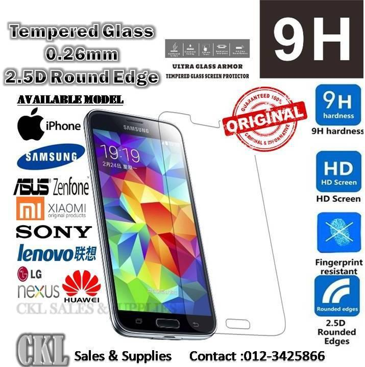 RedMi Note 2 3 4 4X 4A Iphone 7 8 6 6plus 5s Tempered Glass Protector